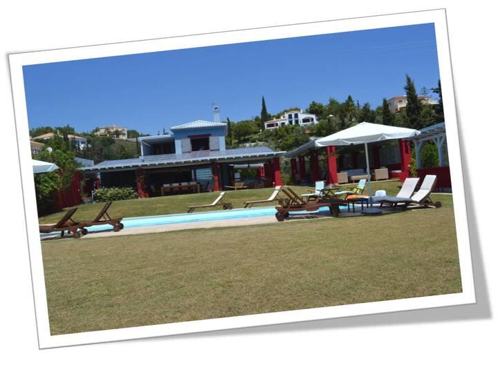 Luxury Villa Porto Heli near beach!