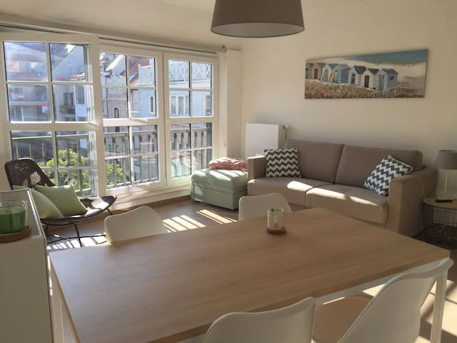 New and cosy appartment nearby the beach! - Knokke-Heist - Kondominium