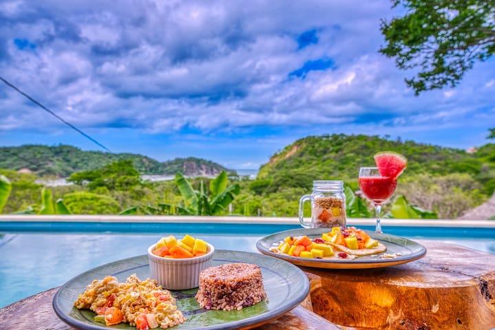 Eden Bungalow 2 - Tropical cabana with ocean view