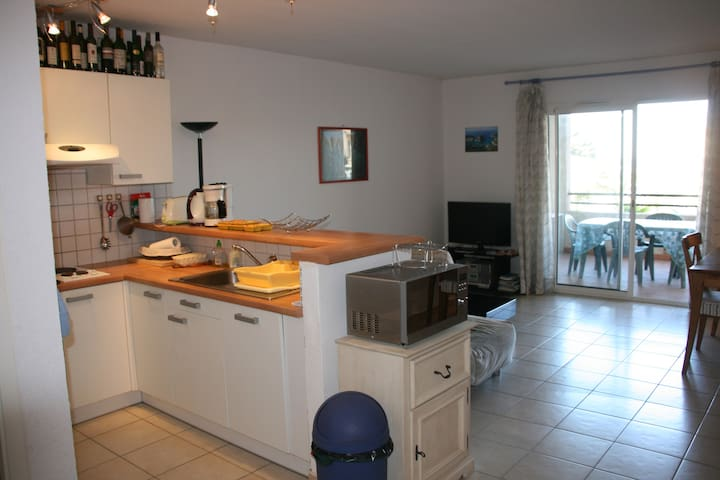 AgreableP2 sur le port de Solenzara - Sari Solenzara - Appartement