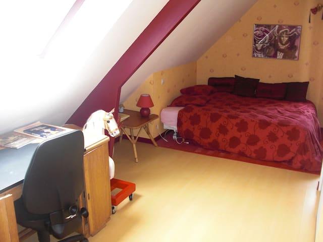 2 chambres à louer à Bénouville - Bénouville - Bed & Breakfast