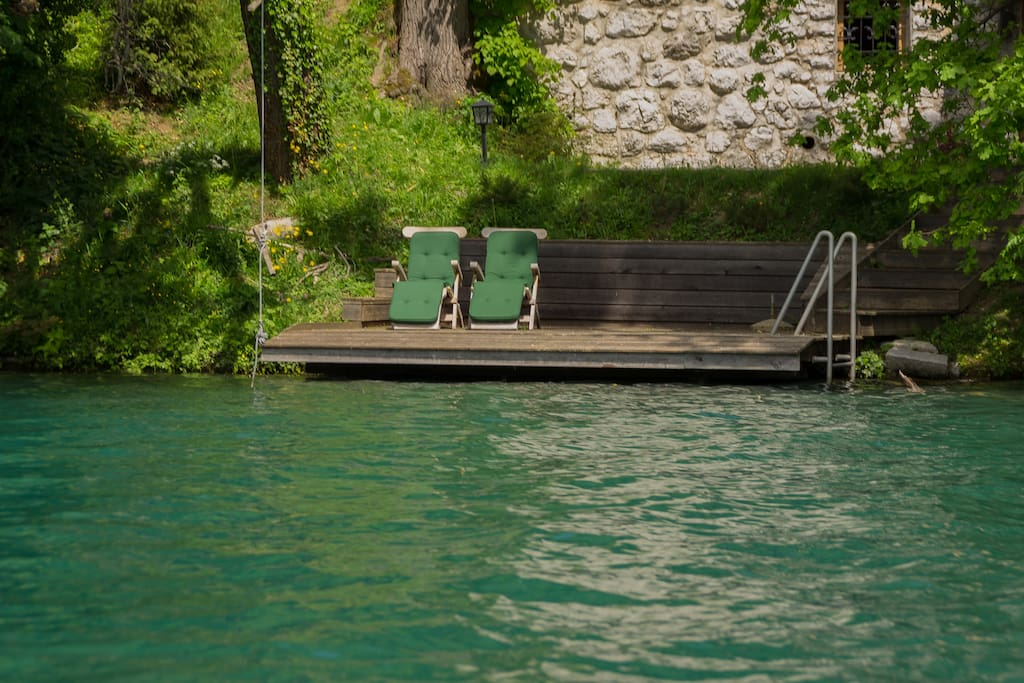 Dock from the lake