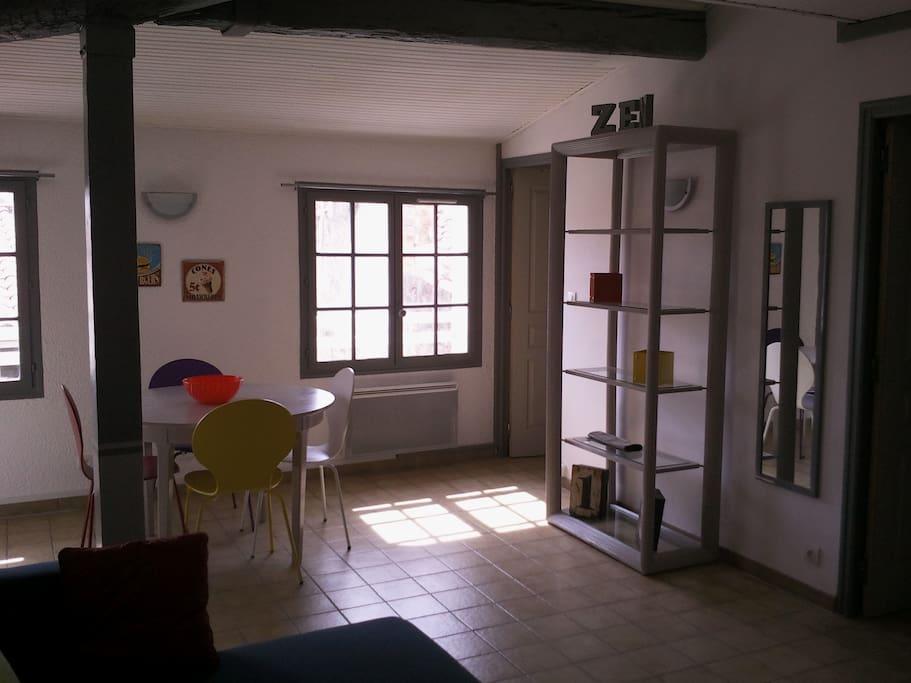 appartement clair et lumineux