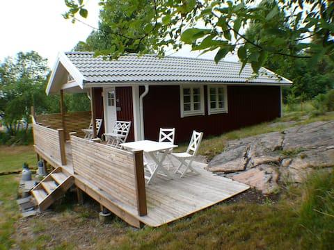 Trevlig gårdsstuga i Sätila, Västergötland