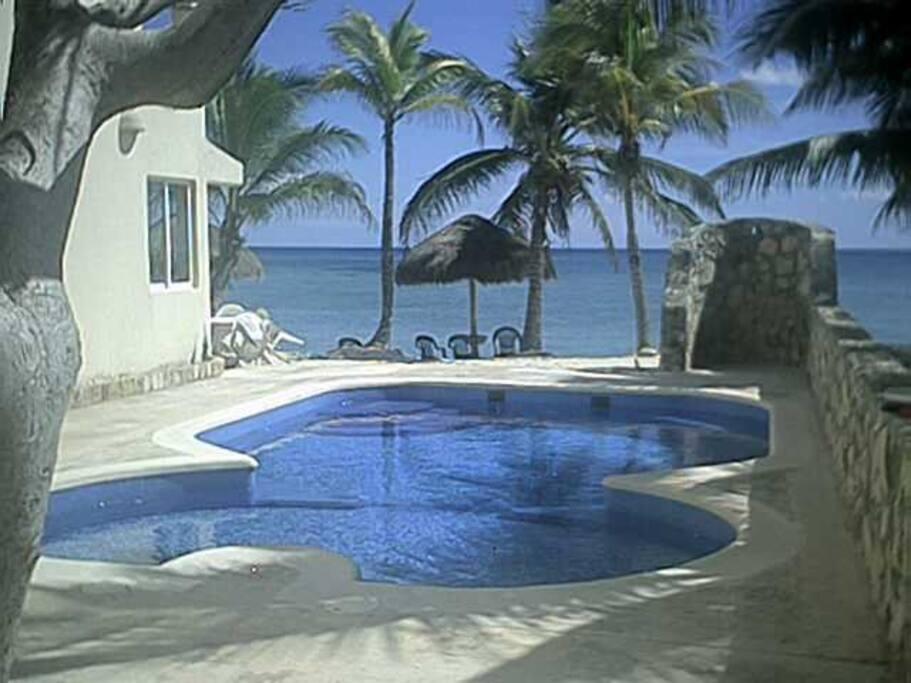 Our pool - take a dip!