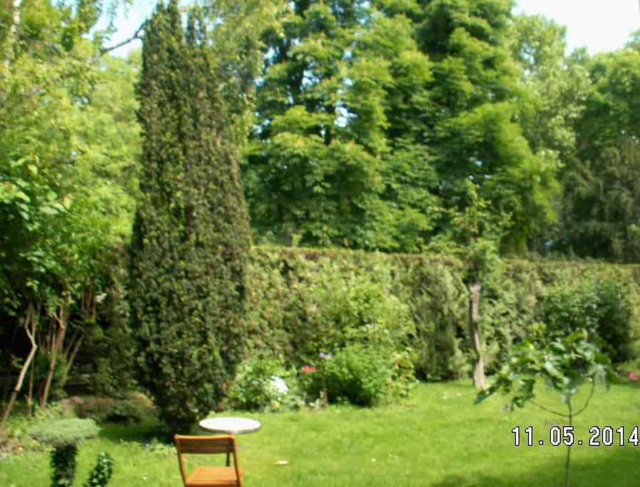 Paris porte maillot maison jardin maisons louer - Location maison jardin ile de france colombes ...