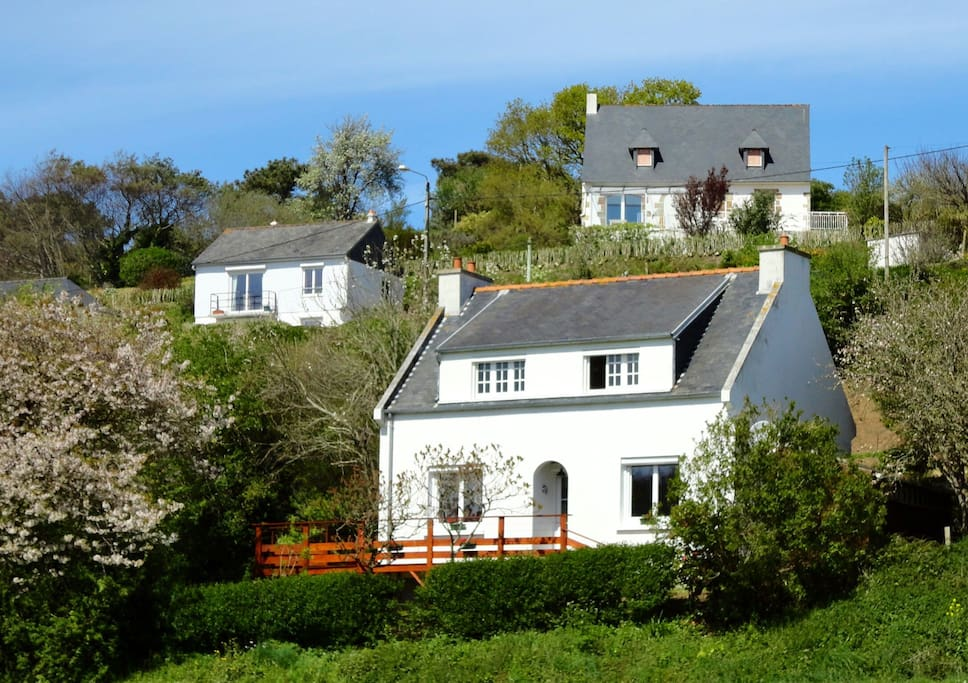 Ty Roskoualc'h, traditional Breton cottage