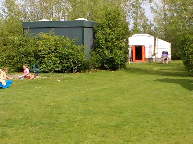 Luxe kamperen in een geweldige yurt - Nieuwerkerk - Yurta