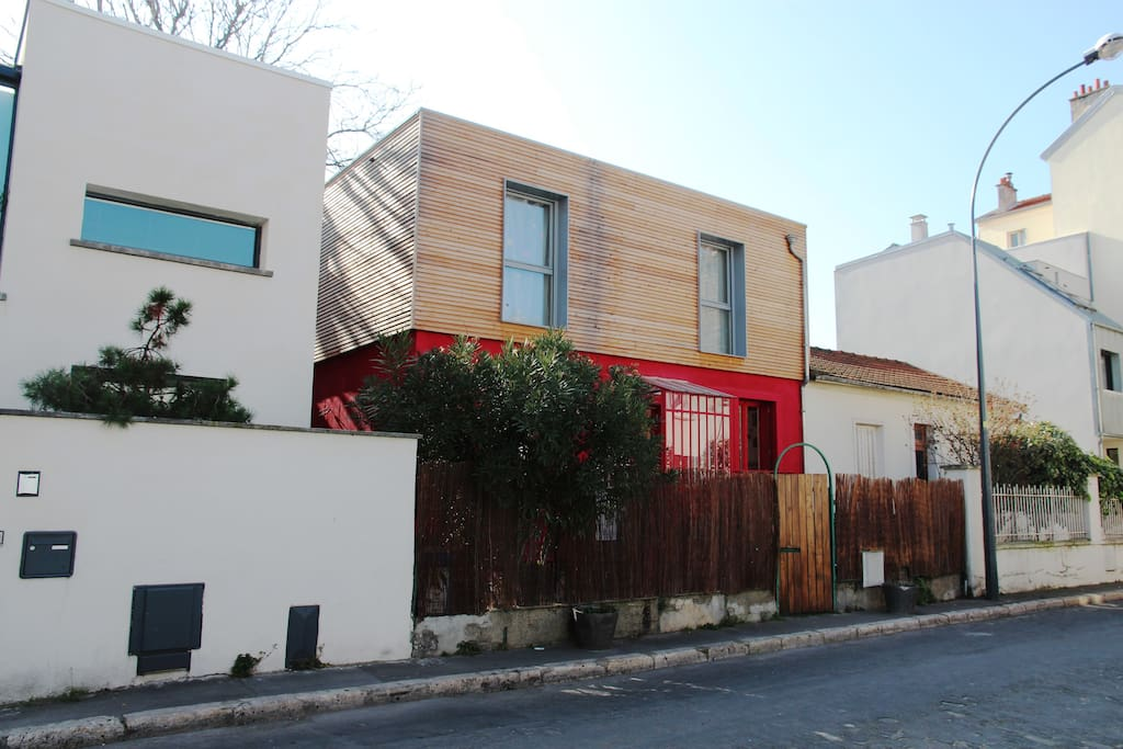 Maison d 39 architecte porte de paris maisons louer for Architecte ile de france
