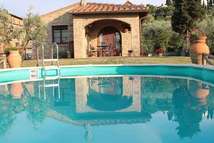 Villa Il Vecchio Pozzo in Toscana - Gambassi Terme - Casa