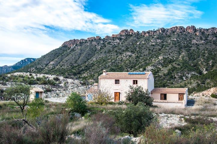 Prachtig vakantiehuis in natuurlijk Spanje - Ricote - Casa