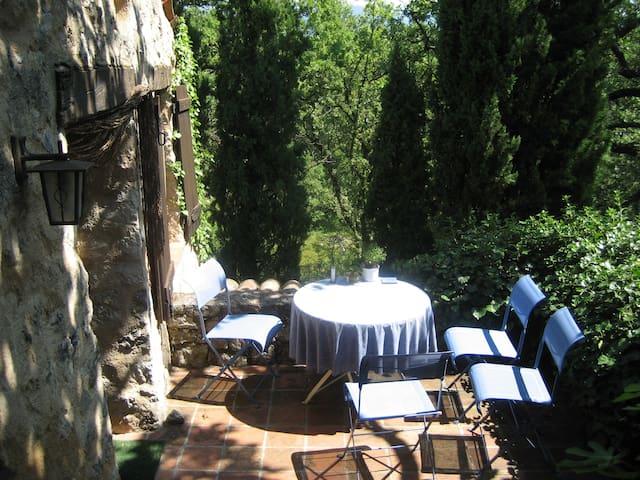 Studio's private terrace