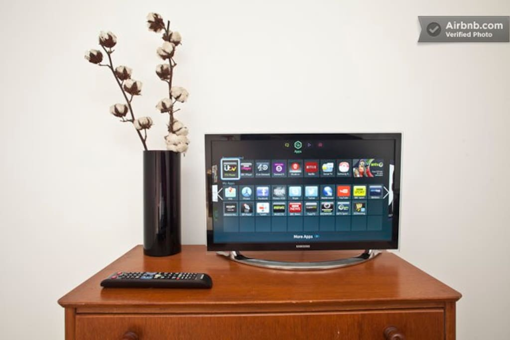 Smart TV in your bedroom