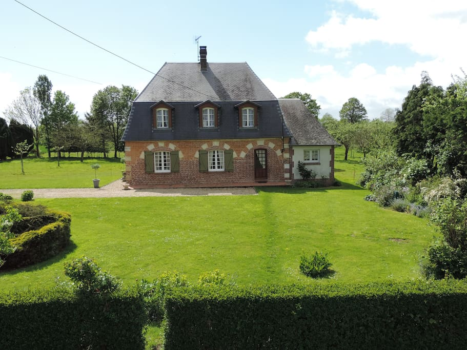 maison de charme en normandie maisons louer heudreville en lieuvin haute normandie france. Black Bedroom Furniture Sets. Home Design Ideas