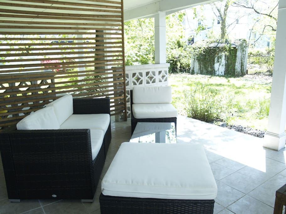 Patio with outdoor sofa