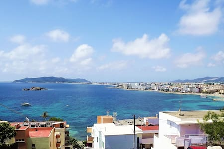 ideally located bedroom Ibiza town