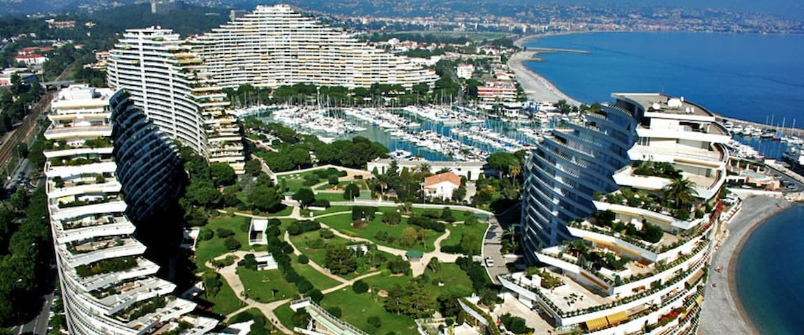 FRENCH RIVIERA SEA SIDE APARTMENT - Villeneuve-Loubet - Wohnung