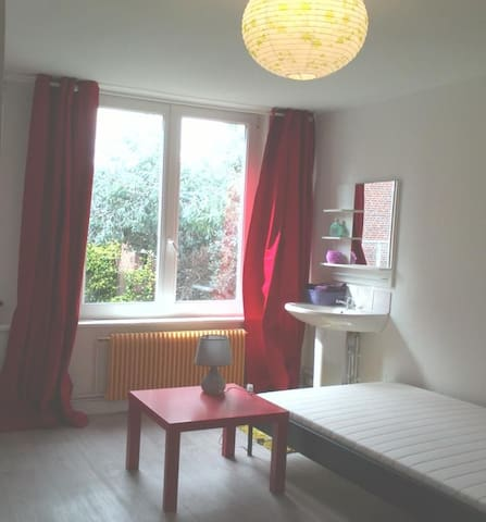 Jolie chambre 12m² à Wazemmes LIBRE - ลีลล์ - บ้าน