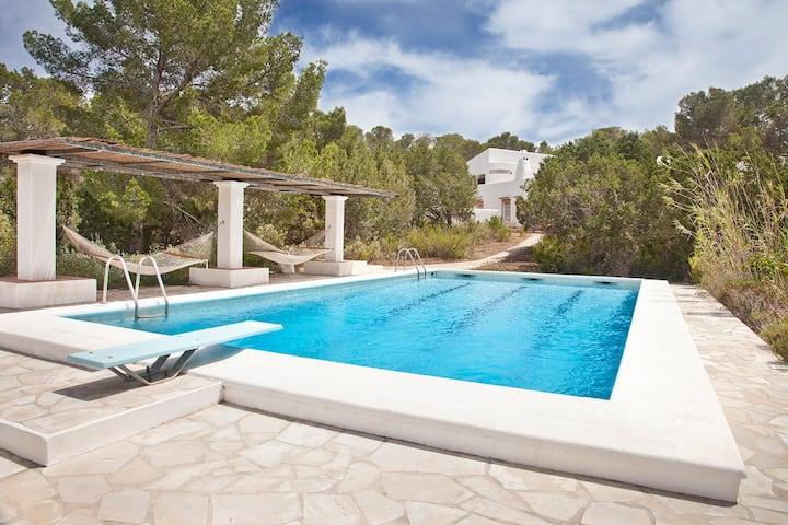 Spacious Villa in Cala Tarida / Ibiza