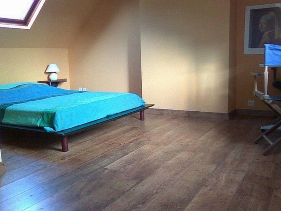 Chambre1:  lit deux personnes