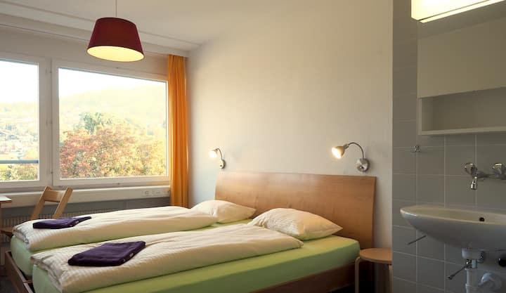 Doppelzimmer Hostel 77 Bern