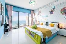 Sanya bay two room sea view room