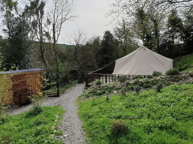 The Copper Pot Campsite Bell Tent