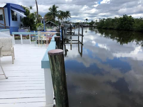 SWFl waterfront home with direct Gulf access