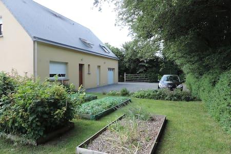 Chambre dans maison à la campagne - Quibou - Dom