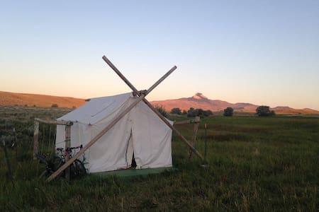 Large Cowboy Wall Tent #1