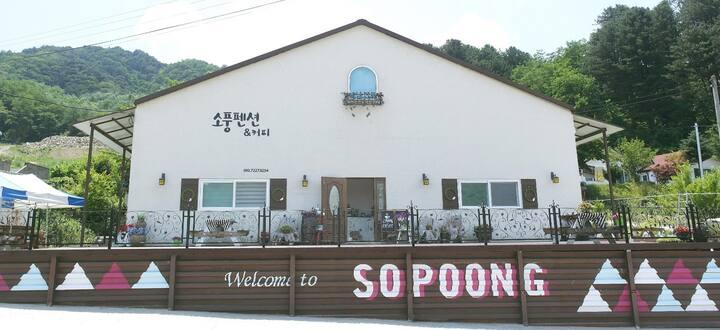 Guesthouse SOPOONG in Korea Yanggu