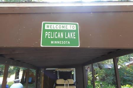 3 bedroom / 1 bath on Big Pelican Lake