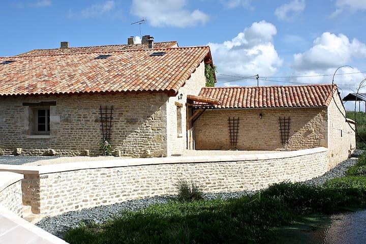 Gîte au coeur du Marais Poitevin - Coulon - Leilighet