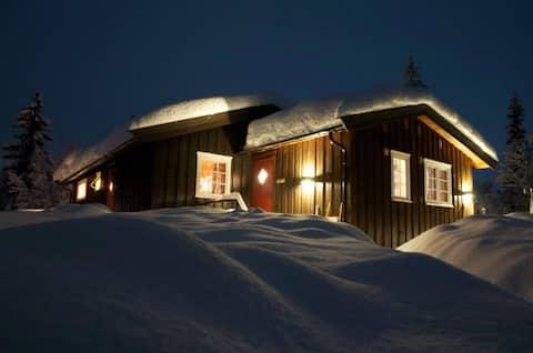 Classic three bedroom cabin, Hemsedal