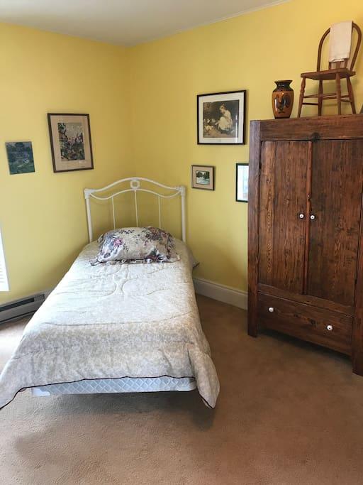 Whittier Bedroom's  Twin Sized Bed