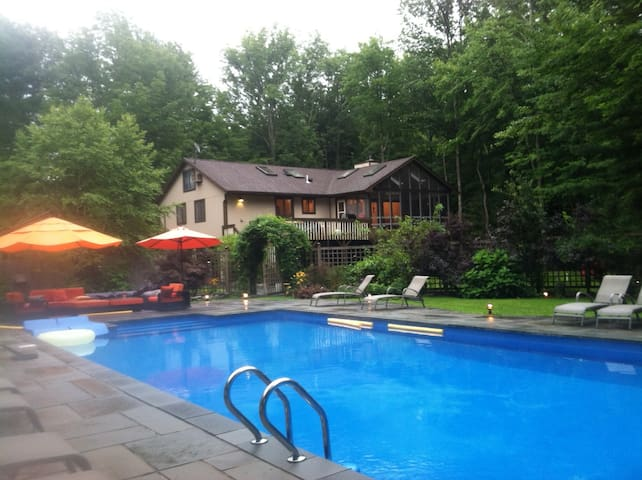 Catskills Home Resort - All Seasons - West Shokan - Casa