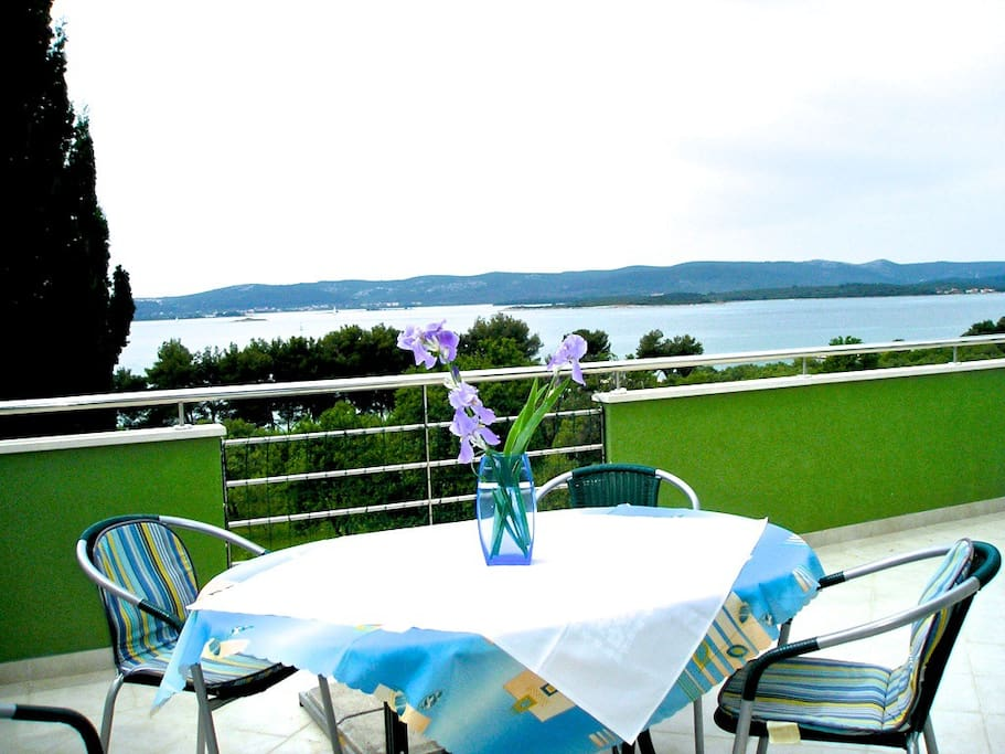 Big nice terrace with view