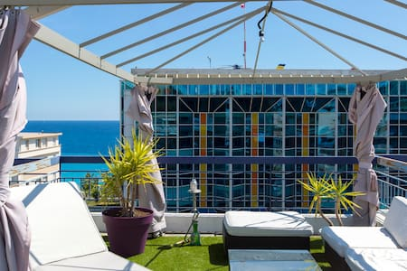 Awesome LOFT in front of the sea - Nizza
