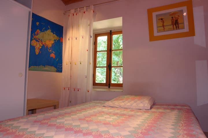 Chambre à coucher, de caractère