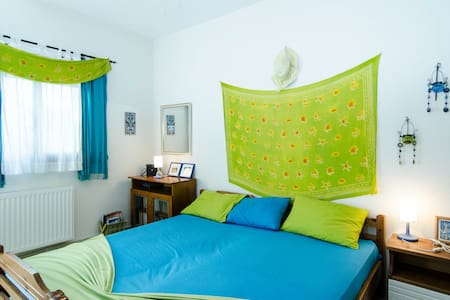 ORMOPANAGIA sleeps 5, steps to sea1 - Ormos Panagias