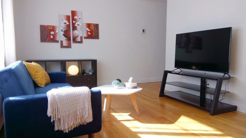 Cozy apartment next to campus / HEC