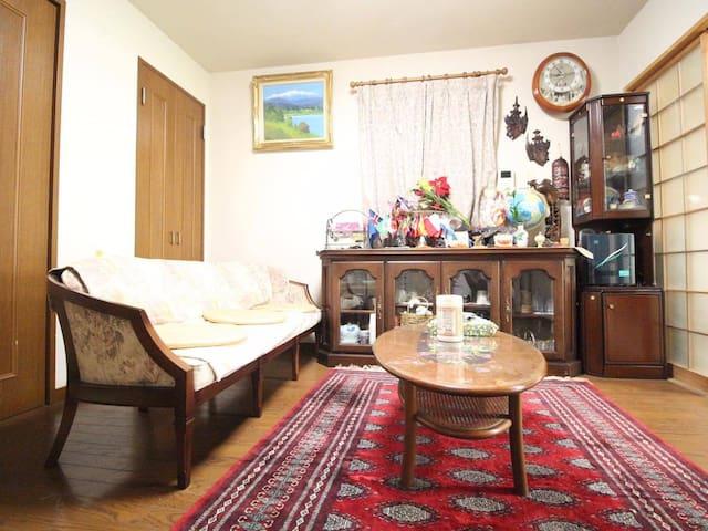 Homestay/Near Nagoya castle+Tokugawa park/WiFi/