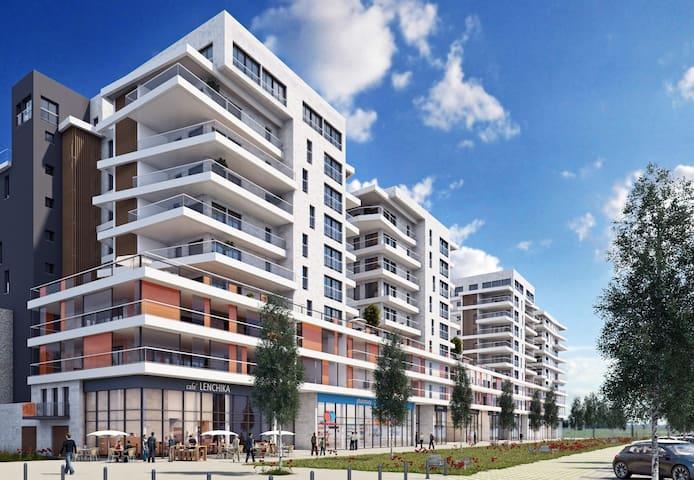 Haifa brand new center apartment with balcony