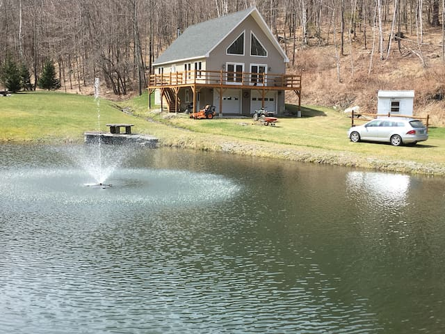 West Rupert, VT private with views, ponds, stream