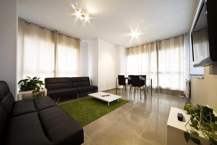 Apart. 2 bedrooms seaview Castellon - Castellon de la Plana - Apartemen