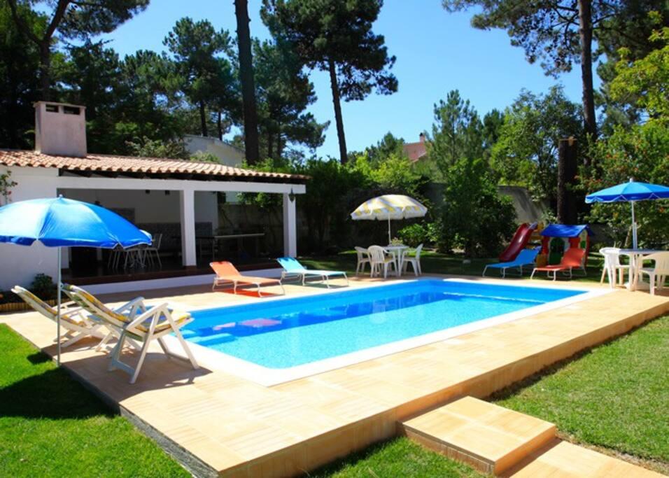Villa Avec Piscine Priv E Et Jardin Maisons Louer