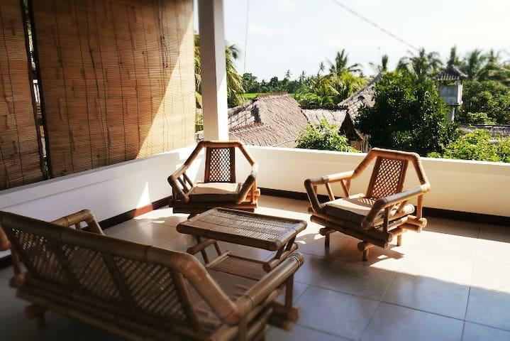 Private Wohnung mit schöner Aussicht