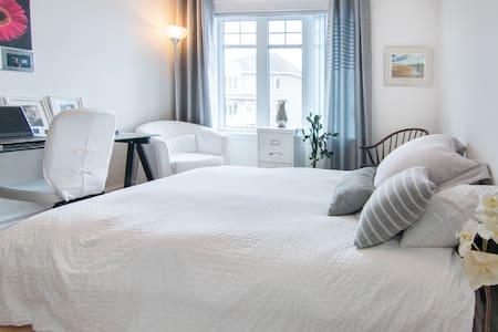 Jolie chambre contemporaine ! - Quebec - Apartemen