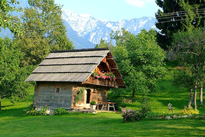 Romantic cottage in Carinthia  - Trieblach - Srub