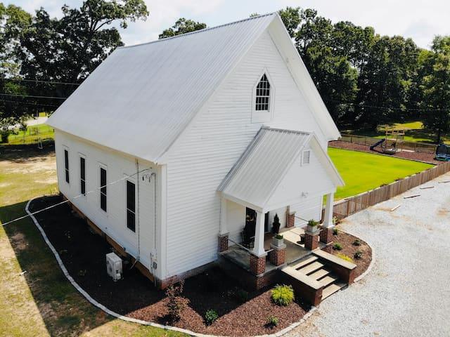 The Church House - Enjoy a unique getaway.